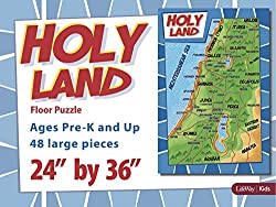 Holy Land Map Floor Puzzle