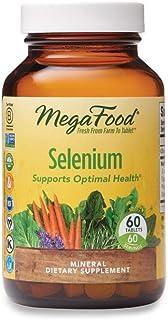 MegaFood, Selenium, Supports Optimal Health, Mineral Supplement Vegan, 60 Tablets (60 Servings)