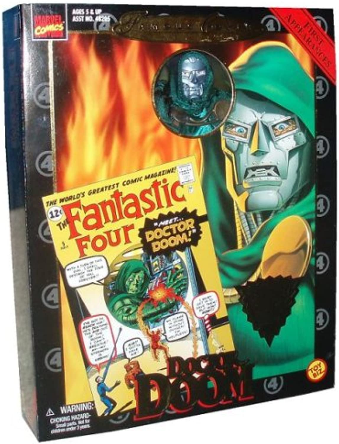 Famous Cover Series Doctor Doom 8  Action Figure