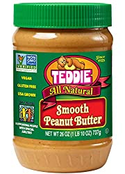 teddie smooth peanut butter