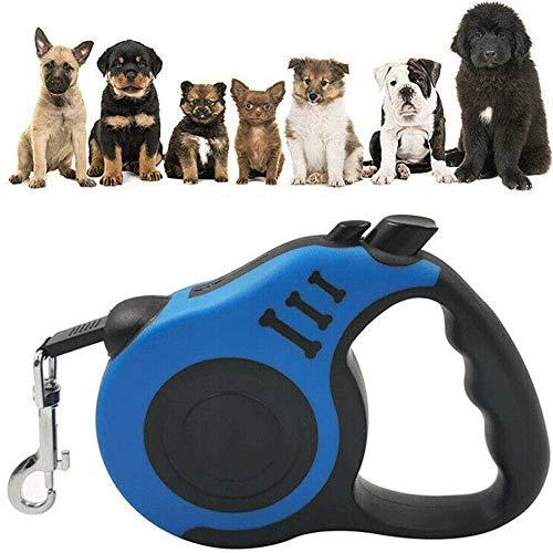 WZYGYDEF hondenriem intrekbare loophalsband automatisch trektouw kleine huisdier 10 FT 16 FT