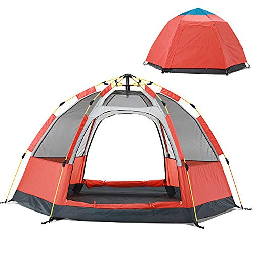 Lightweight Tent,Pop-up Automatic Tent Hydraulic Dome Tent Canopy for Camping Easy to Set up Waterproof 3-4 person