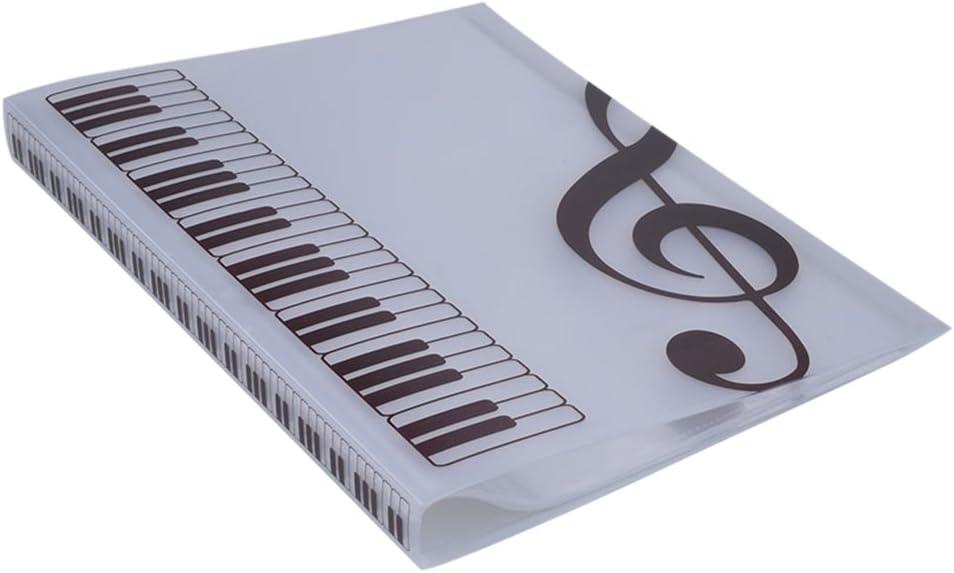 ULTNICE Music Sheet New item File Folder Indianapolis Mall Documents Poc 40 Organizer Paper