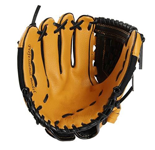 Carzy Baseball Handschuhe Sport & Outdoor Glove Linkshänder Rechte Schlaghand Kind Pitcher Baseballhandschuhe Ausrüstungstraining Leder,Right-Hand