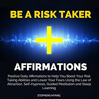 Be a Risk Taker Affirmations audiobook cover art
