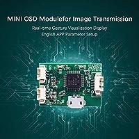 Benkeg Mini OSDモジュールMini PIX PixhawkフライトコントローラボードRCレーシングFPVドローン画像伝送用