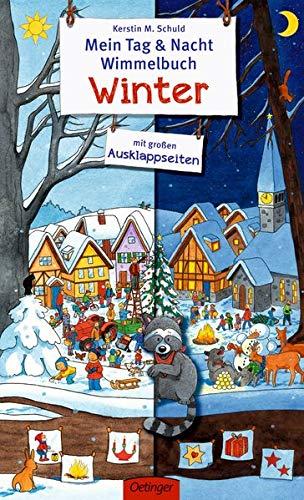 Mein Tag & Nacht Wimmelbuch: Winter