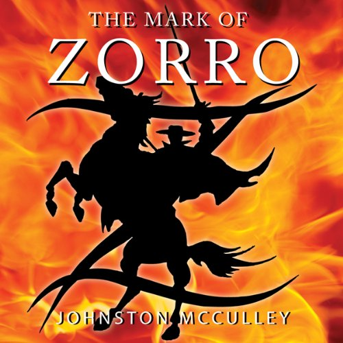 The Mark of Zorro audiobook cover art