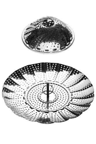 Premier Housewares Cuiseur À Vapeur En Acier Inoxydable - Ø14-24cm