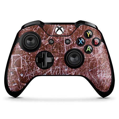 DeinDesign Skin kompatibel mit Microsoft Xbox One X Controller Aufkleber Folie Sticker Rost Kratzer Scratches