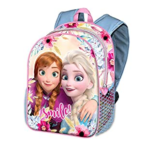 51o6iI9u6PL. SS300  - Karactermania Frozen Smile-zaino Basic Mochila Infantil 40 Centimeters 18.2 Multicolor (Multicolour)