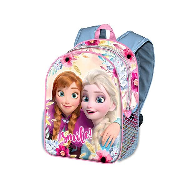 51o6iI9u6PL. SS600  - Karactermania Frozen Smile-zaino Basic Mochila Infantil 40 Centimeters 18.2 Multicolor (Multicolour)