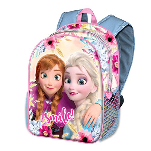 Karactermania Frozen Smile-zaino Basic Mochila Infantil 40 Centimeters 18.2 Multicolor (Multicolour)