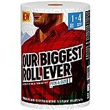 Brawny Paper Towels, 1 Mega Roll = 4 Regular Rolls, Pick-A-Size Sheets