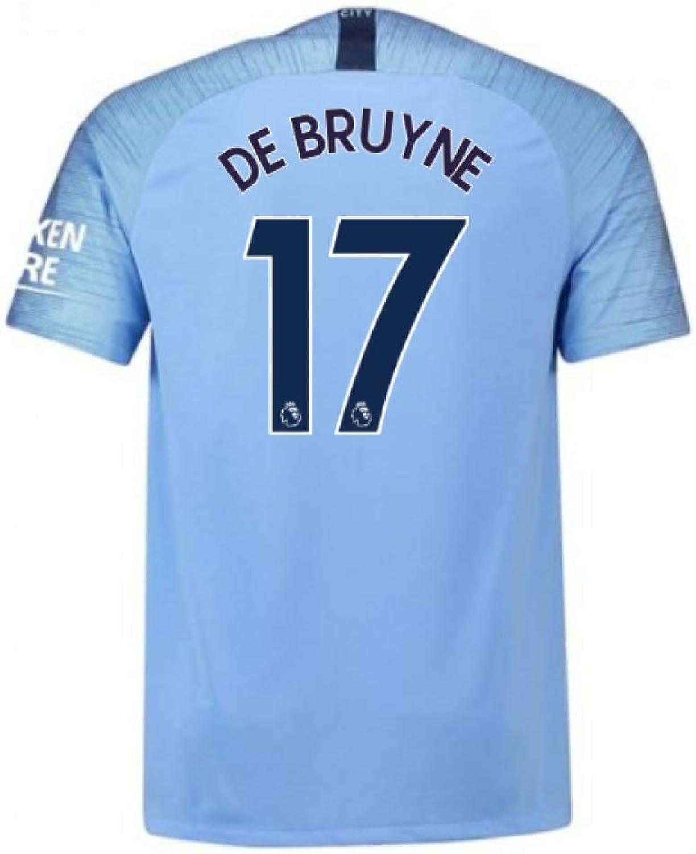 20182019 Man City Nike Vapor Home Match Shirt (De Bruyne 17)