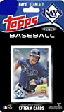 2014 Topps Tampa Bay Rays Factory Sealed Special Edition 17 Card Team Set with Evan Longoria Plus