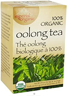 Uncle Lee's Tea 100% Imperial Organic Oolong Tea 18 Bag