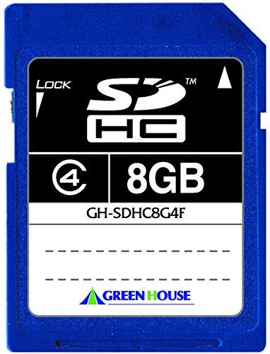 GREEN HOUSE(グリーンハウス『GH-SDHC8G4F 8GB』