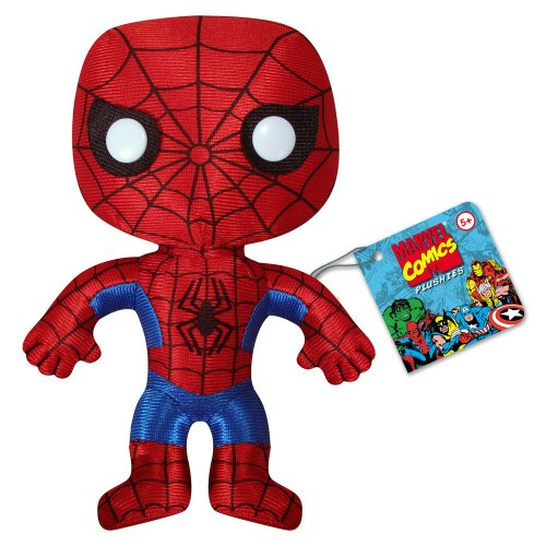 Classic Spiderman Plushie - Stoffpuppe, Puppe, Stofftier - aus USA