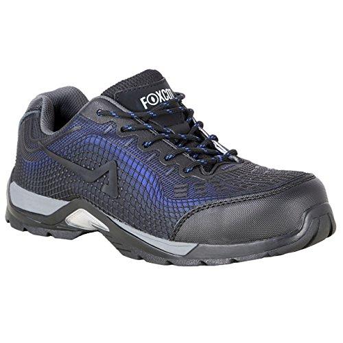 scarpe antinfortunistica foxcot Foxcot Scarpe Antinfortunistiche RA023 S1P SRC-Blu-44