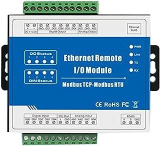 Modbus TCP Ethernet Remote IO Module 2 Digital Input 2 Digital Output 2 Analog Input M100T (Dry contact DI)