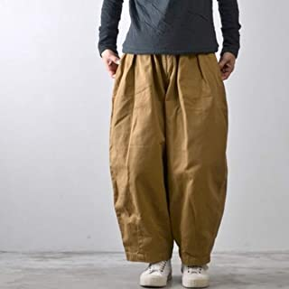HARVESTY ハーベスティ サーカス パンツ A11709 コットン100% カーキベージュ ネイビー アイボリー パンツ ワイド ボトムス レディースファッション 再入荷
