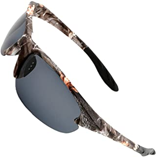 MOTELAN Polarized Outdoor Sports Sunglasses Tr90 Camo...