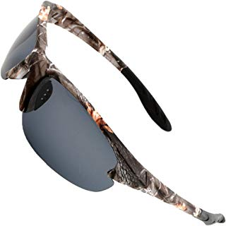 MOTELAN Polarized Outdoor Sports Sunglasses Tr90 Camo...