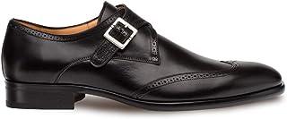 أحذية رجالية من Mezlan Forest الفاخرة بطرف أوكسفورد - جلد العجل الفاخر مع أجزاء مثقوبة - مصنوعة يدويًا في إسبانيا - عرض متوسط