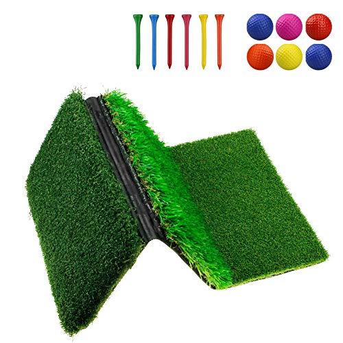 Golf Abschlagsmatte 3-in-1-Faltbare Grasmatte