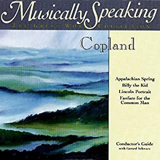 『Conductor's Guide to Copland's Appalachian Spring, Billy the Kid, & Fanfare for the Common Man』のカバーアート