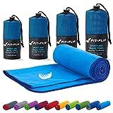 Fit-Flip Toalla Microfibra – en Todos los tamaños / 18 Colores – compacta y de Secado rápido...