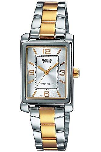 Casio Collection LTP-1234PSG-7A, Reloj para Mujer, Bicolor