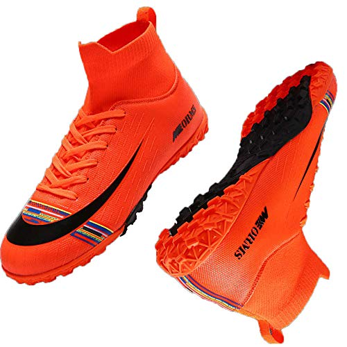 Niber Athletic Outdoor Indoor Soccer Shoes Cleats Football...
