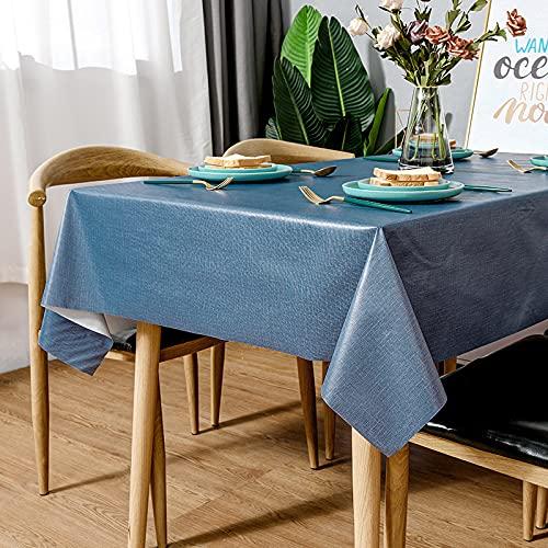 sans_marque Tovaglia, anti-versamento e anti-piega copertura morbida della tavola, utilizzata per la decorazione della tavola della cucina90* 90cm
