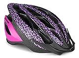 Schwinn Thrasher Bike Helmet, Lightweight Microshell Design, Youth, Purple/Pink Leopard