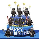 LVEUD 8PCS Star wars Cake Topper, Children Mini Toys Cupcake Toppers...