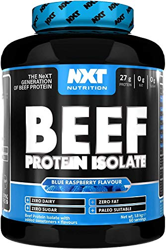 NXT Nutrition Beef Protein Isolate 1.8kg - Kiwi Lime