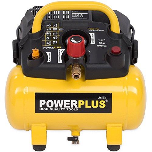 Powerplus kraftvoller Druckluft...