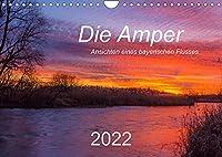 Die Amper - Ansichten eines bayerischen Flusses (Wandkalender 2022 DIN A4 quer): Begleiten Sie die Amper vom Ursprung am Ammersee bis zur Muendung in die Isar. (Monatskalender, 14 Seiten )