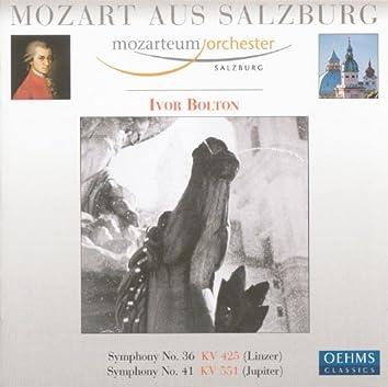 "Mozart, W.A.: Symphonies Nos. 36, ""Linz"" and 41, ""Jupiter"""