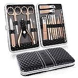 Manicure Set Professional Pedicure Kit Nail Clippers Kit - 18 pcs Nail Care