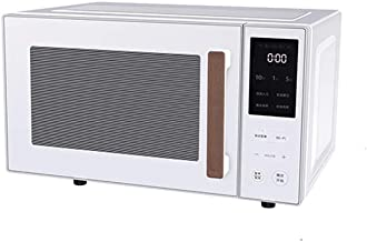 N / A Horno de microondas pequeño Blanco, Horno de microondas Integrado para cocinar y cocinar al Vapor en el hogar, Horno de microondas multifunción, descongelación Inteligente,