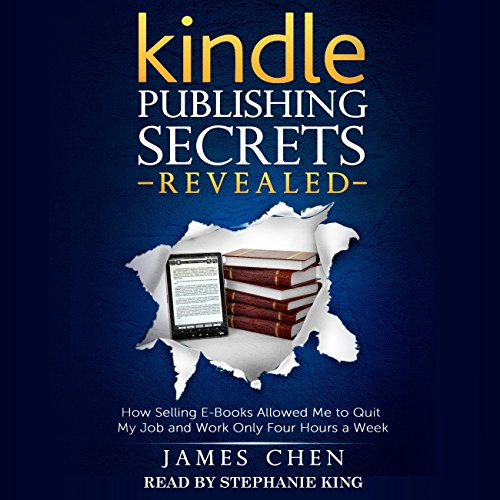 Kindle Publishing Secrets Revealed audiobook cover art