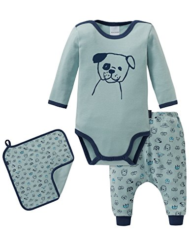 Schiesser Baby-Jungen Cool Dogs Unterwäsche-Set, Mehrfarbig (Sortiert 1 901), 68 EU (3er Pack)