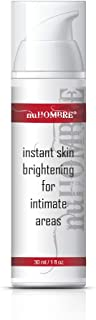 nuHOMBRE Men's INSTANT Intimate Skin Lightening- No Hydroquinone - All-Natural Skin Brightening Lotion, Fast, Strong, Safe
