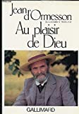 Au plaisir de Dieu - Editions Gallimard - 29/11/1977