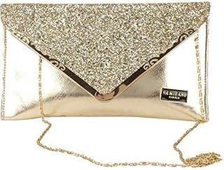 Dazy Purse House Women's Clutch Purse (Silver_Size 11 * 7 Inches)