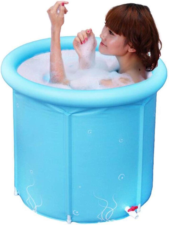 Dicke Faltende Dusche Bad Barrel, Erwachsene Kinder Blaue Faltende Badewanne, Tragbare Home Spa