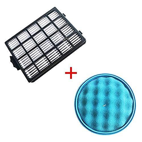 Filtro Spugna 1PC e Filtro HEPA 1PC H13 per Samsung SC21F50 SC15F50 SC18F50 SC50VA VC-F700G VU700 Aspirapolvere Robot (Colore: HXL6137)-Hxl6137 Improve
